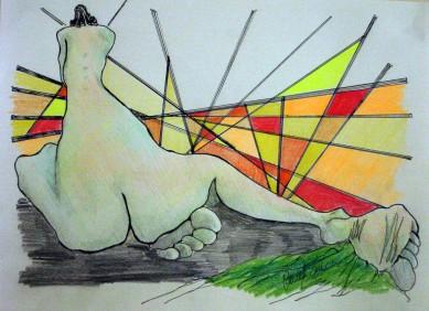 Fractured Sunrise