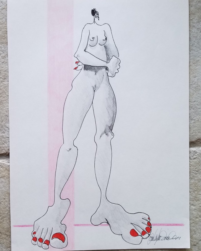 I STAND  (8 1/2X 12) $45